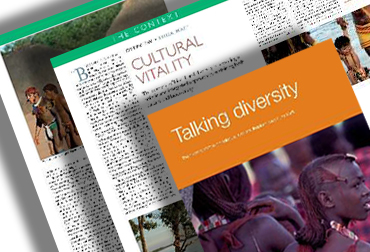 biocultural diversity