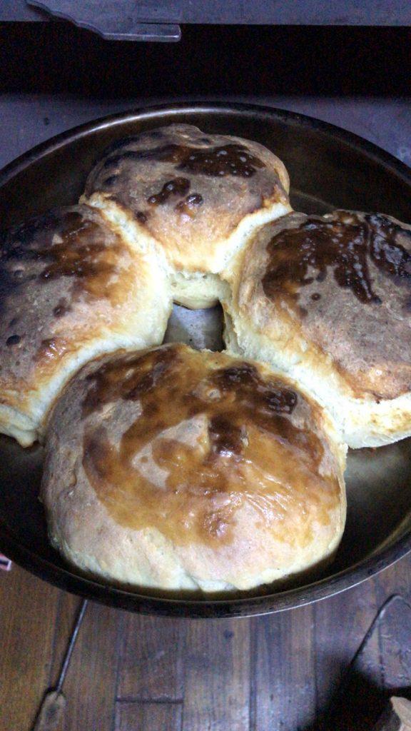 homemade Turkish bread