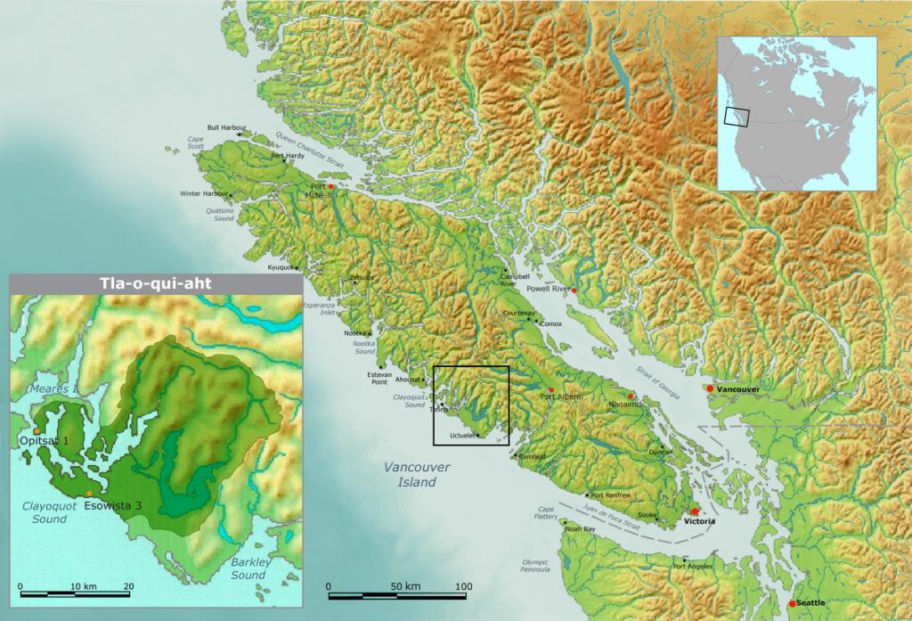 Tla-o-qui-aht Territory, Canada