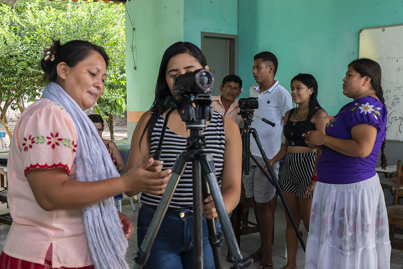 participatory video training workshop