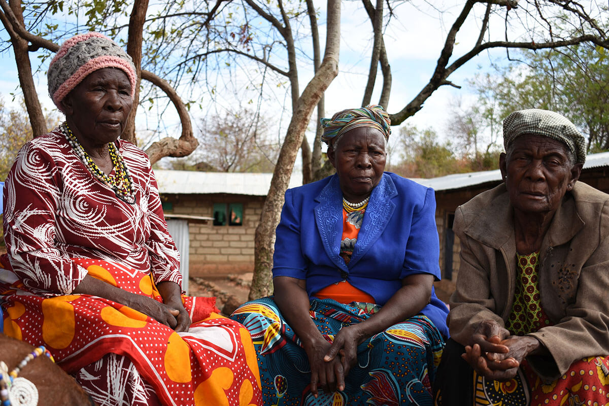 women Elders from Tharaka