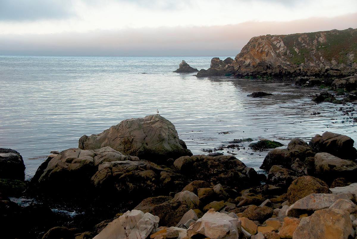 shore near Metini Village