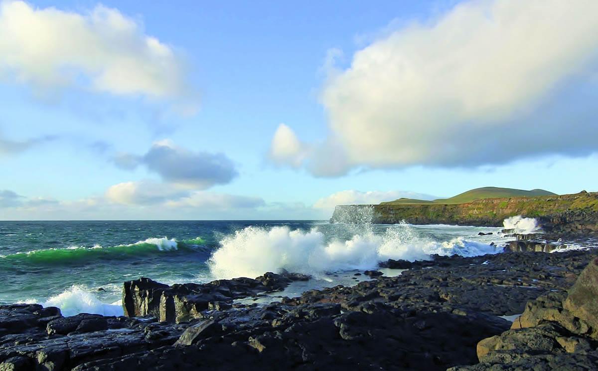 Waves at St. Paul Island