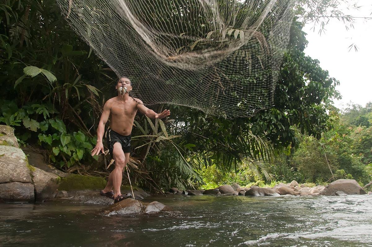 young Dusun man